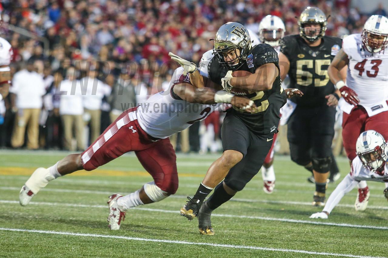 NCAA FOOTBALL:  2016 Military Bowl