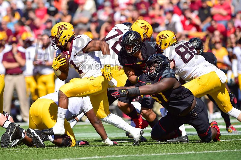 NCAA FOOTBALL: Minnesota vs. Maryland