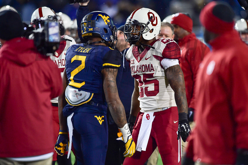 NCAA FOOTBALL: Oklahoma vs. West Virginia