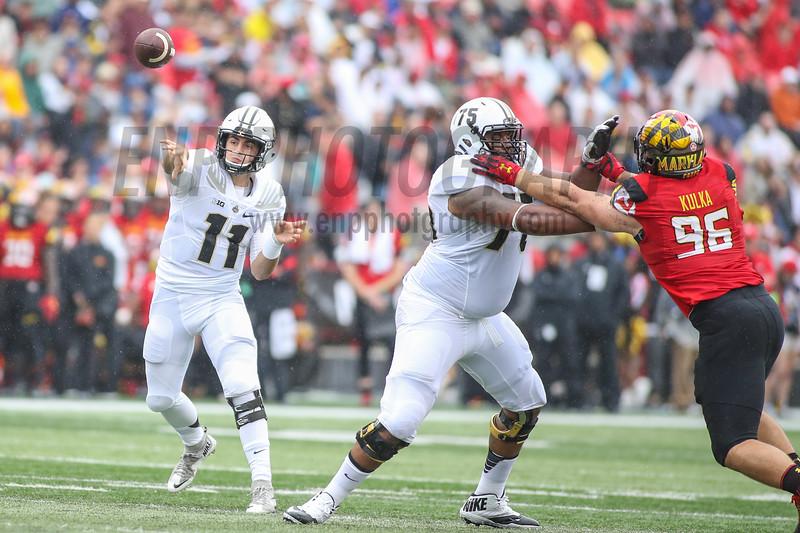 NCAA FOOTBALL: Purdue at Maryland