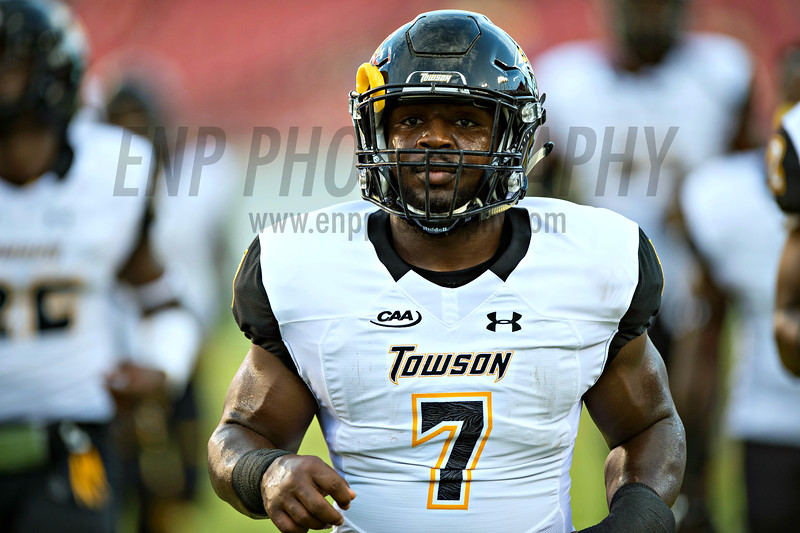 NCAA FOOTBALL: Towson @ University of South Florida