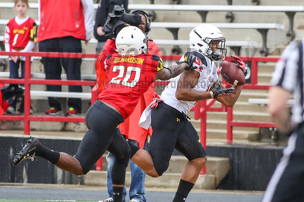 NCAA FOOTBALL: Maryland Spring Game