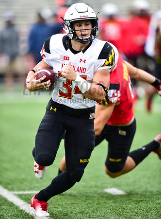 NCAA FOOTBALL: Maryland 2017 Spring Game