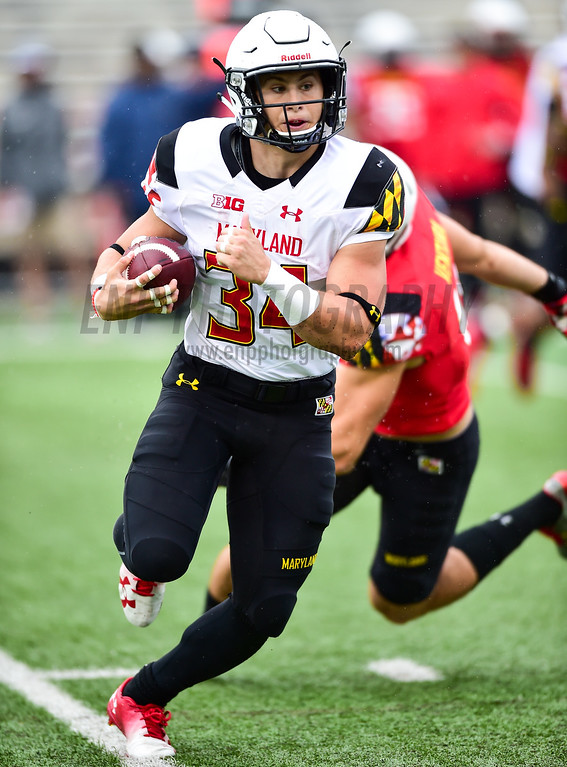 NCAA FOOTBALL: Maryland 2017 Spring Game