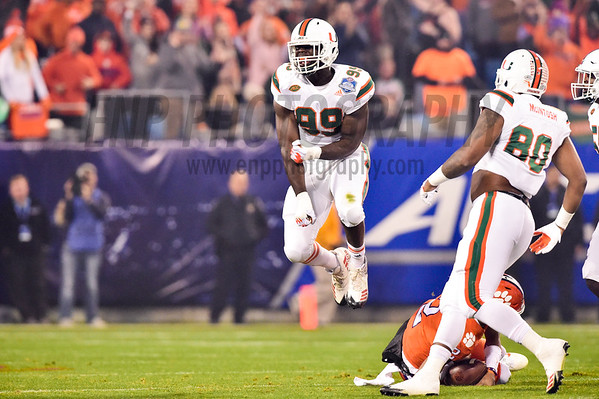 NCAA FOOTBALL: 2017 ACC Championship Miami vs. Clemson