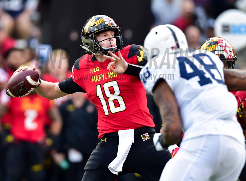 NCAA FOOTBALL: Penn State at Maryland
