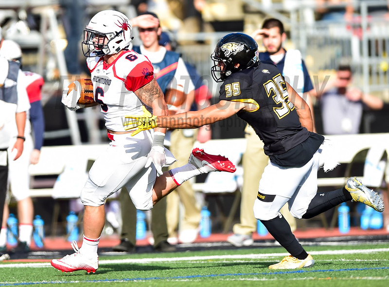 NCAA FOOTBALL OCT 14: Richmond vs. Towson