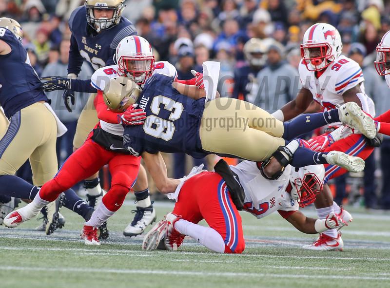 NCAA FOOTBALL: SMU at Navy