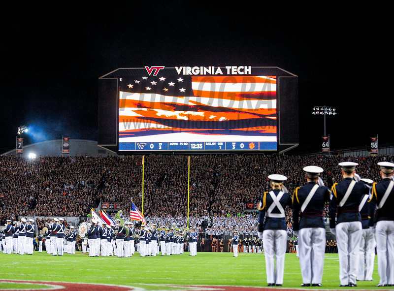 NCAA FOOTBALL: Clemson vs. Virginia Tech