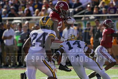 COLLEGE FOOTBALL: JAN 01 Citrus Bowl - Michigan v Alabama