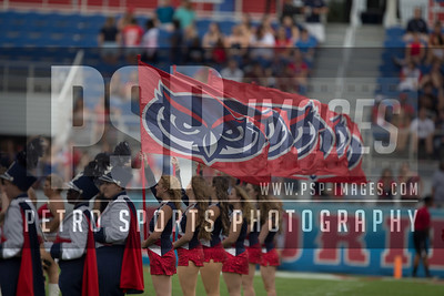 FAU band perform pre game of the football  game between the visiting Western Kentucky Hilltoppers  and the FAU Owls on October 29, 2016  ( Joe Petro, The Skyboat )