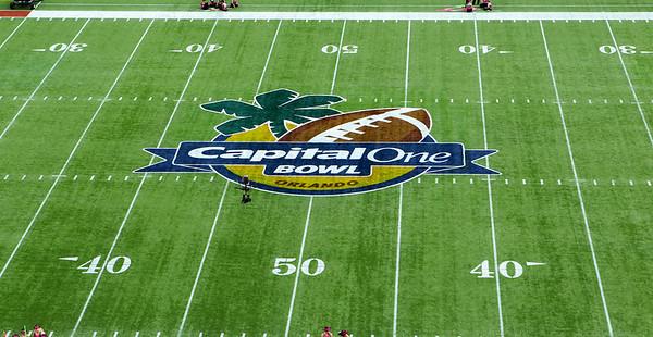 Capital One Bowl, Georgia vs Nebraska, January, 1, 2013, Citrus Bowl, Orlando, FL, USA,  PSP IMAGES LLC.