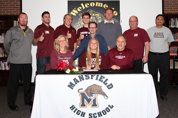 2014 College Signing Mansfield High