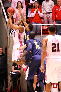 U of U MBB vs California 1-24-2013. Justin Seymour (3)