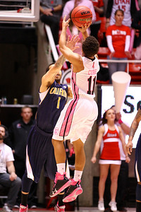 U of U MBB vs California 1-24-2013. Brandon Taylor (11)