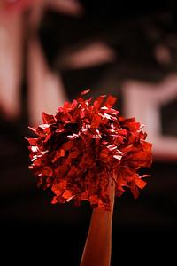U of U MBB vs Arizona 2-17-2013. Cheerleaders