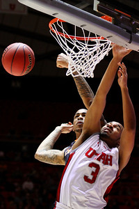 U of U MBB vs Oregon State 3-7-2013. Justin Seymour (3)