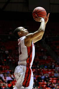 U of U MBB vs Oregon State 3-7-2013. Brandon Taylor (11)