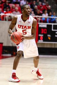 U of U MBB vs Oregon State 3-7-2013. Jarred DuBois (5)