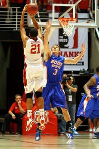 U of U MBB vs Boise St. 12-5-2012