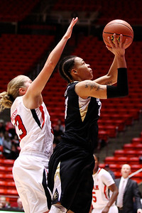 U of U WBB vs Colorado 1-13-2012. Rachel Messer (13)