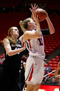 U of U WBB vs Colorado 1-13-2012. Taryn Wicijowski (11)