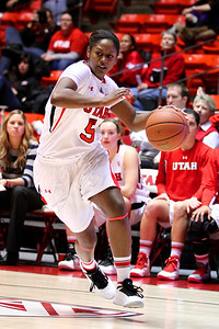 U of U WBB vs Colorado 1-13-2012. Cheyenne Wilson (5)