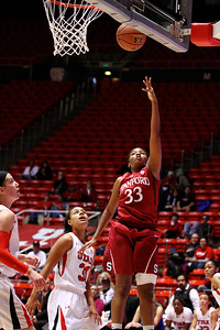 U of U WBB vs Stanford 1-6-2013    12