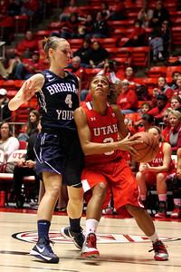 U of U WBB vs BYU 12-8-2012