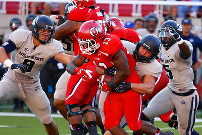 U of U Football vs Utah State • 8-29-2013 - Utah defeats Utah State 30 - 26.
