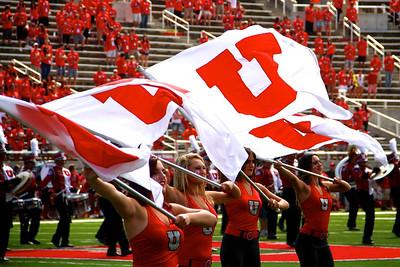 U of U Football vs Weber State • 9-7-2013. Utah defeats Weber State 70-7.