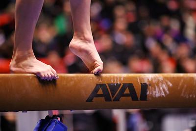 U of U Gymnastics vs Stanford 2-23-2013. Becky Tutka