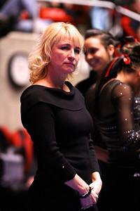 U of U Gymnastics vs Stanford 2-23-2013. Coach Meagan Marsden