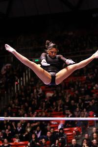 U of U Gymnastics vs Stanford 2-23-2013. Kassandra Lopez