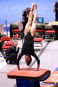 U of U Gymnastics vs Stanford 2-23-2013. Nansy Damianova