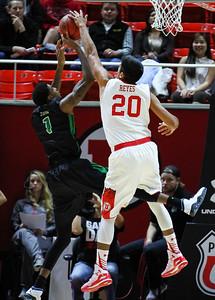 University of Utah Men's Basketball versus North Dakota on 11-26-2014 at the Jon M. Huntsman Center. The Utes defeat North Dakota 90-53.