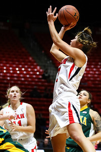 University of Utah Women's Basketball versus Alaska Anchorage at the Huntsman Center 11-05-2014. Lady Utes lose to the Seawolves 67-61.