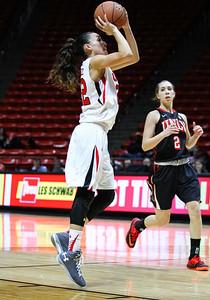 University of Utah Women's Basketball vs UNLV at the Huntsman Center 12-06-2014. Lady Utes defeat the rebels 62-49.
