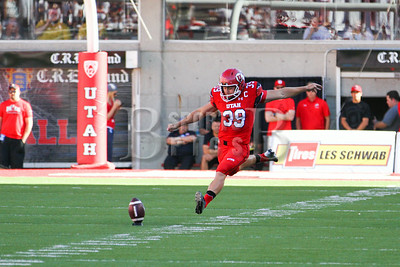 University of Utah Football vs Idaho State 8-28-2014 at Rice-Eccles Stadium. Utes defeat Idaho State 56-14.