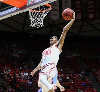 University of Utah Men's Basketball vs Delaware State at the Jon M. Huntsman Center on 12-22-2015. The Utes defeat the Hornets 105 - 58.  #goutes   #gamedayu  ©2015 Bryan Byerly