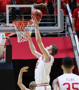 University of Utah Men's Basketball vs Southern Utah University at the Jon M. Huntsman Center on 11-13-2015. The Utes defeat the Thunderbirds 82-71