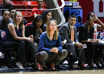 University of Utah Women's Basketball vs UCLA at Jon M. Huntsman Center 01-31-2016. The Lady Utes lose to the Bruins 63-69.    ©2016 Bryan Byerly