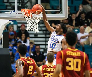 2015 PAC-12 Tournament. Quarterfinal game UCLA vs USC.