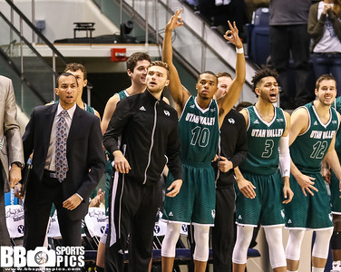 Brigham Young University Men's Basketball vs Utah Valley University at Marriot Center 11-26-2016. The Cougars lose to the Wolverines 101-114. ©2016 Bryan Byerly   #gocougars  #byuhoops  #uvu  #uvubasketball