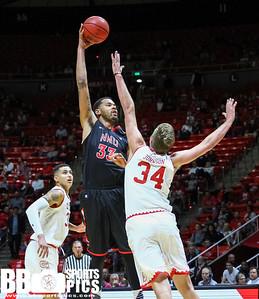 University of Utah Men's Basketball vs Northwest Nazarene at Jon M Huntsman Center 11-12-2016. The Utes defeat the Crusaders 81-37. ©2016 Bryan Byerly   #goutes