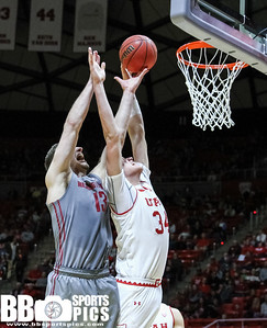 University of Utah Men's Basketball vs Washington State at Jon M Huntsman Center 02-09-2017. The Utes defeat the Cougars 74-70. ©2017 Bryan Byerly  #goutes #gamedayu