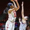 University of Utah Women's Basketball vs Southern Utah University at Jon M. Huntsman Center on 11-30-2016. the Utes defeat the Thunderbirds 69-43. ©2016 Bryan Byerly  #goutes  #elevate  #suu #tbirdnation