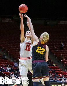 University of Utah Women's Basketball vs Arizona State University at Jon M. Huntsman Center on 01-06-2017. The Utes lose to the Sundevils 44-66. ©2017 Bryan Byerly  #goutes  #elevate