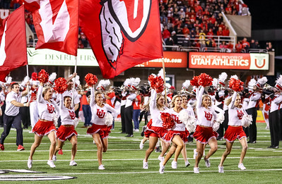 University of Utah versus Arizona at Rice-Eccles Stadium on 10-07-2016. The Utes defeat the Wildcats 36-23. #utes, #goutes, #AZvsUTAH   ©2016 Bryan Byerly