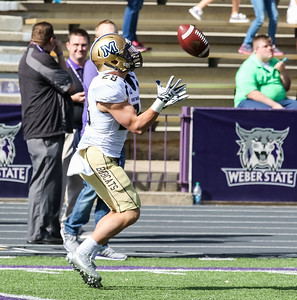Weber State versus Montana State at on 10-15-2016. The Wildcats defeat the Bobcats 45-27. #weberstate #weberfootball #wildacts #msu #bobcats #gocatsgo ©2016 Bryan Byerly